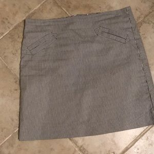 Grace seersucker skirt